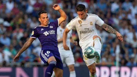 Real Madrid deja escapar puntos sobre la hora