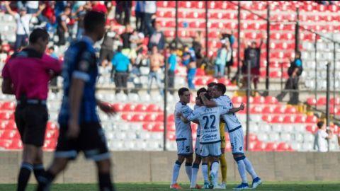 Puebla le roba el triunfo a Querétaro al empatarle a un gol