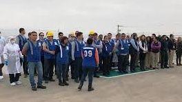 Evacuan a trabajadores por fuga de quimicos