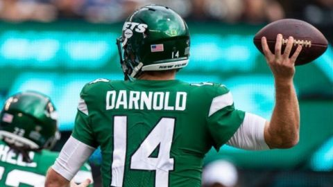 Los Jets pierden a Sam Darnold, Le'Veon Bell en duda