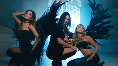 Miley Cyrus, Ariana Grande y Lana del Rey  lucen sensuales en nuevo vídeo