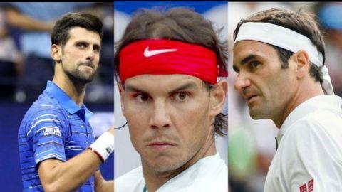 Djokovic, Nadal y Federer, al frente de la ATP tras una semana de calma