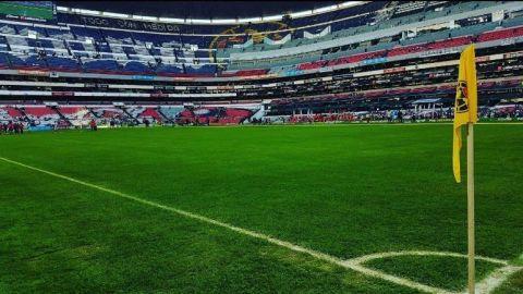 Trabajan en el Estadio Azteca para quedar bien con la NFL
