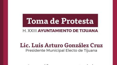 Alistan toma de protesta de Arturo González Cruz
