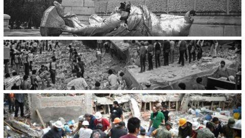 Los tres sismos que más impactaron a la Ciudad de México