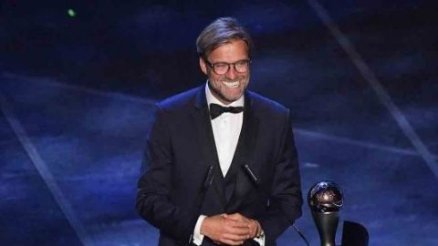 Jurgen Klopp gana el The Best a mejor entrenador