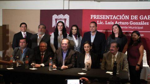 Presenta Arturo González Cruz gabinte del XXIII Ayuntamiento de Tijuana