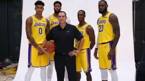 """LeBron: """"Davis es un gran jugador y vamos a liderar juntos a Lakers"""""""