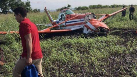 Se desploma avioneta de fumigación en Sinaloa