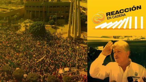 Reacción en Cadena: Esta NO fue la marcha del silencio