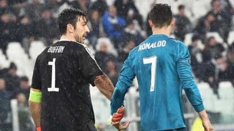 """""""No está mal para uno de 33 años, ¿no?"""", Cristiano a Buffon tras chilena"""
