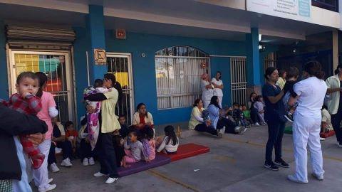 Cientos de niños en peligro por fuga de gas en guardería del IMSS