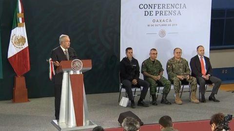 El Presidente López Obrador afirma que se evitó un baño de sangre