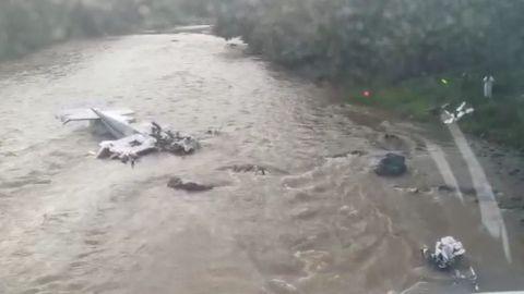 Reportan desplome de avioneta en Michoacán; hay 5 muertos