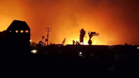 Vigente estado de pre alerta en Ensenada por vientos de Santa Ana