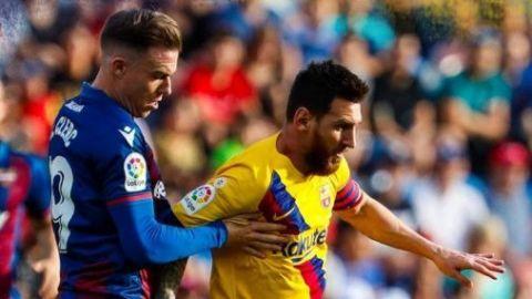 Levante humilla al Barcelona