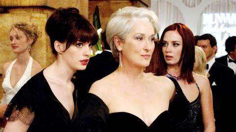 """Anne Hathaway y Meryl Streep creadas en versión """"El diablo viste a la moda"""""""