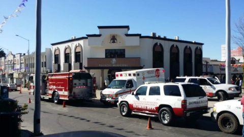 Intoxicados en Palacio Municipal de Tecate, evacuaron a ciudadanos