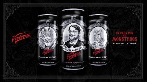 Los monstruos de Guillermo del Toro están ahora en las latas de Cerveza Victoria