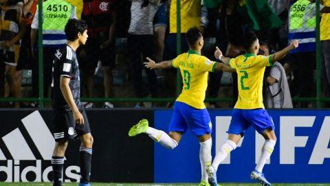 México acuchillado por el arbitraje pierde final SUB 17 ante Brasil