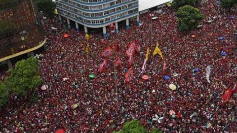 Celebra Río de Jaineiro victoria del Flamengo