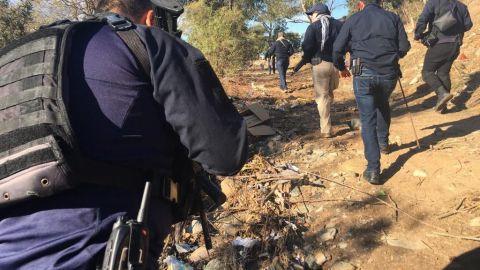 La búsqueda de restos humanos de familiares desaparecidos