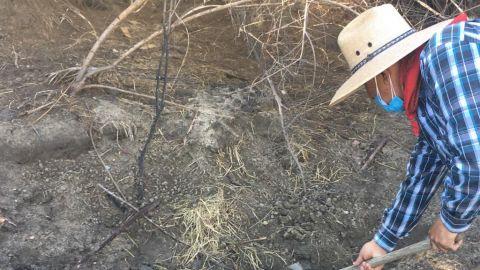 VIDEO: Dos cuerpos encontrados ayer por colectivos de BC con apoyo de la FGE