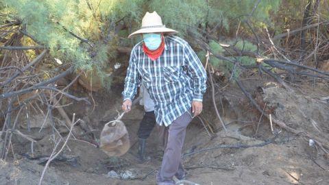 Colectivo de búsqueda de personas desaparecidas localizan restos humanos