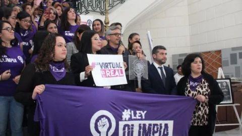 """""""Ley Olimpia""""es avalada por el Congreso."""