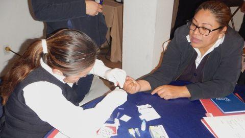 Capacita Secretaría de Salud a su personal en la aplicación de pruebas de VIH