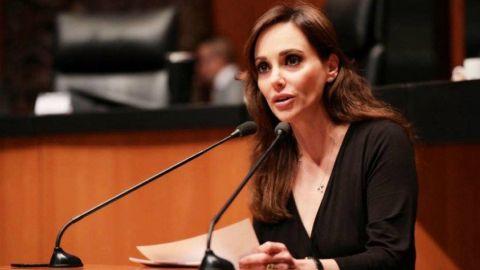 Presidenta de la Mesa Directiva del Senado defiende a Lilly Téllez