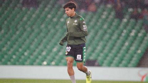 Golazo de Lainez en la Copa del Rey