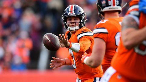 Broncos derrota a Lions con buen juego de Drew Lock