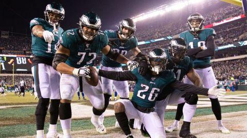 Deslucida, pero valiosa victoria de Eagles sobre los Cowboys
