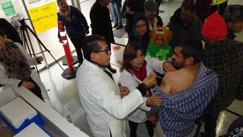 Instalan Módulo De Vacuna Contra Influenza