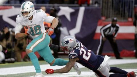 Dolphins sorprenden; Pats deberán jugar la próxima semana