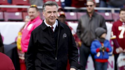 Bruce Allen pierde su cargo como presidente de Redskins