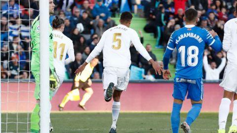 El Real Madrid recupera la pegada para conquistar el Coliseum ante Getafe