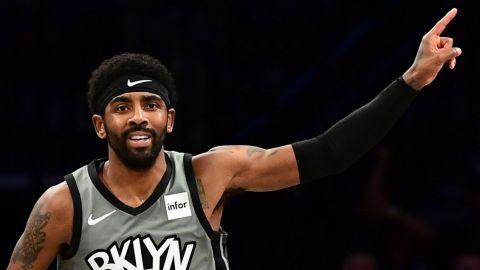 Kyrie Irving dio un paso más en su regreso con los Brooklyn Nets