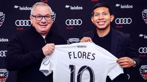 Oficial: Edison Flores, nuevo jugador del D.C. United de la MLS