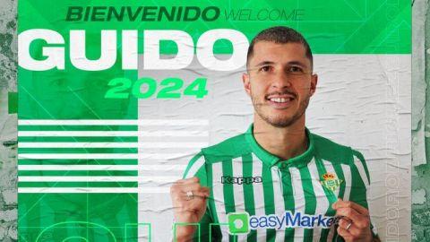 Oficial: Guido Rodríguez, nuevo jugador del Betis de Sevilla