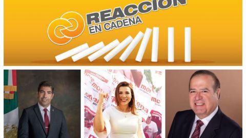 Reacción En Cadena: La calificación de los alcaldes de Baja California
