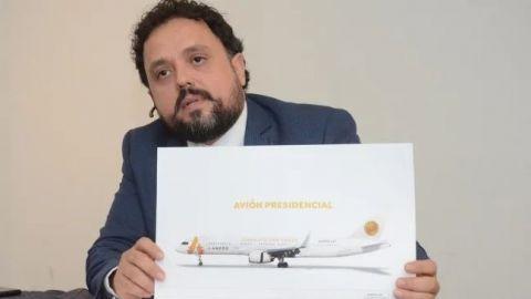 Empresa de Monterrey ofrece criptomonedas por avión presidencial