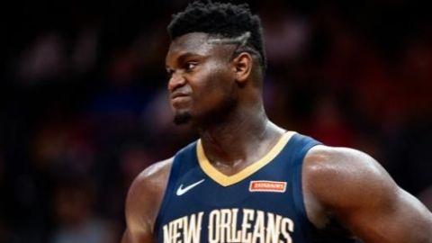 Debut de Zion Williamson en la NBA sería mañana