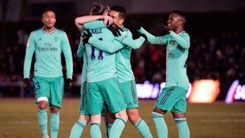 Real Madrid cumple y avanza a octavos de final en Copa del Rey