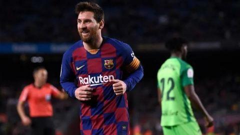 Messi lidera goleada del Barcelona sobre el Leganés