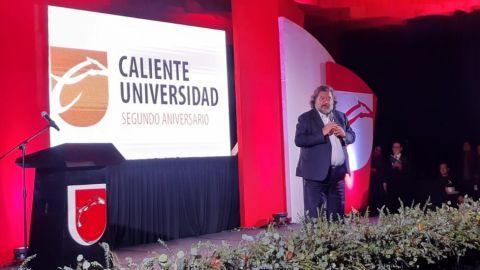 Celebran segundo aniversario de Caliente Universidad