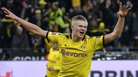 Haaland anota doblete con Borussia y llega a siete goles en 136 minutos