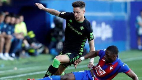 Sin mexicanos, Betis firma empate contra Eibar