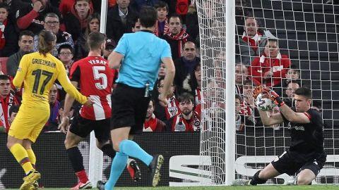 Williams mete al Athletic en las semifinales ante Barcelona